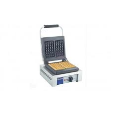 Однопостовая электровафельница Hendi 212103 для объемных вафель прямоугольной формы 4х6 клеток