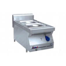 Электрический настольный мармит Abat ЭМК-40Н с двумя ваннами для гастроемкостей GN 1/2
