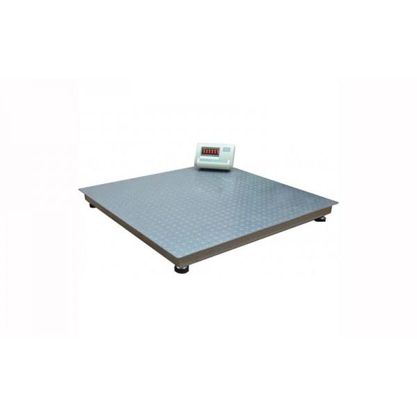 Платформенные весы Днепровес ВПД-Л1212-0,5т, НПВ=500 кг, d=200 г, 1200x1200 мм