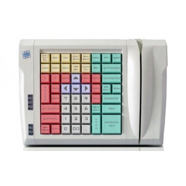 POS-клавиатура программируемая РОS UA LPOS-064-M12 со считывателем магнитной полосы
