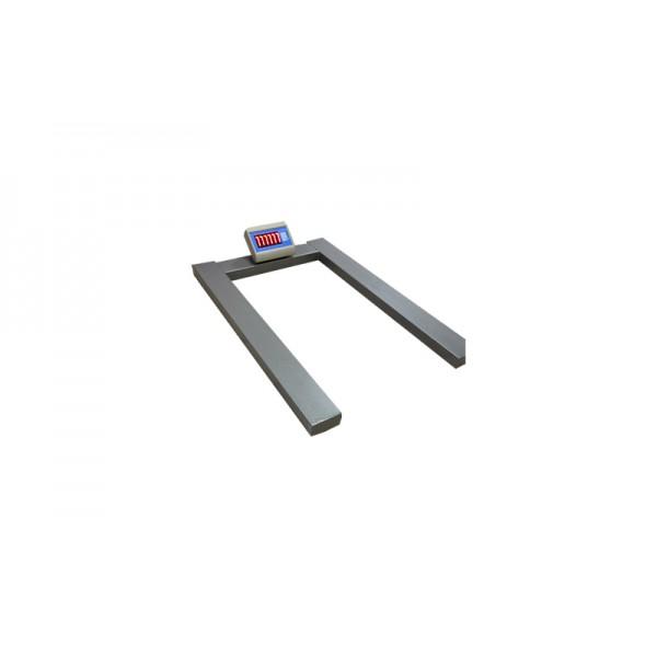 Паллетные весы Днепровес ВПД-П-0,3т (1200х800 мм) до 300 кг