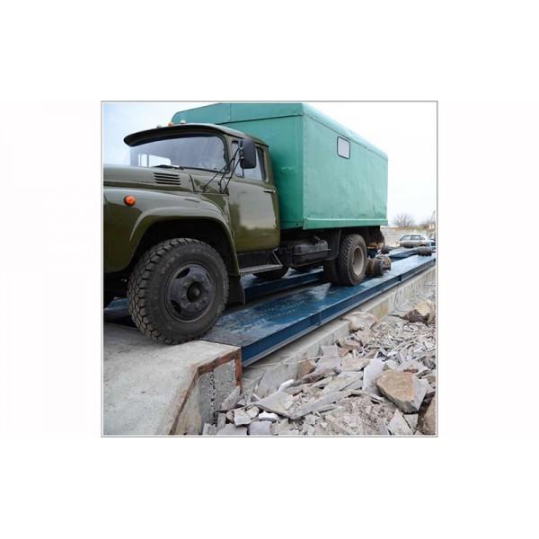 Автомобильные стационарные весы Днепровес ВА-60; НПВ: 60 тонн; 18 (3) м