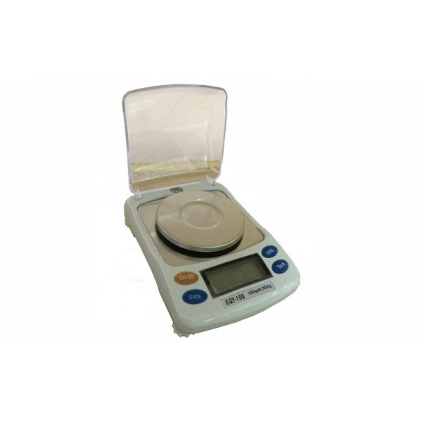 Лабораторные весы Днепровес EGY-100 до 100 г с точностью 0,002 г, 4-го класса точности
